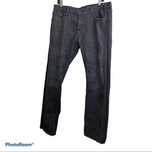 Levi's 514 men slim straight grey fade wash jeans size 36X34